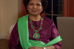 Chandrika Tandon during an interview at her home in Manhattan February 2020, (Photo by Luke Christopher/The American Bazaar)