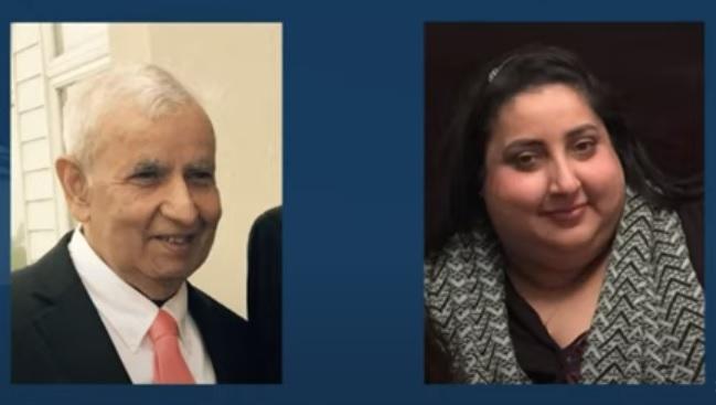 Satyender Dev Khanna and Priya Khanna