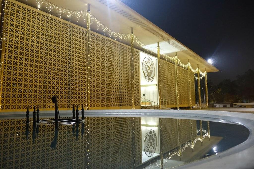 US embassy in Delhi