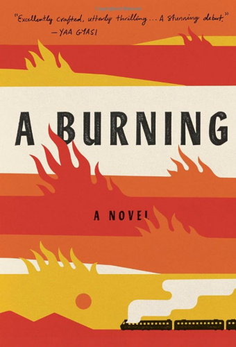 A Burning, book cover