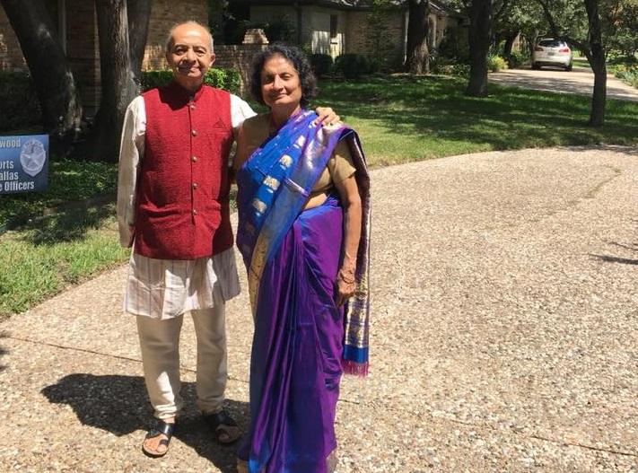 Prakash and Vishakha Sheth