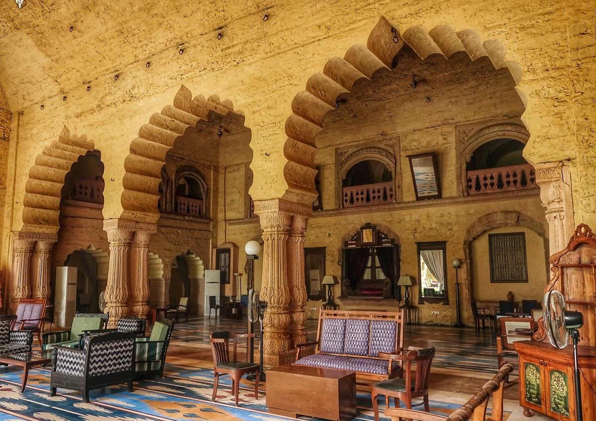 Mardana Mahal at Tijara Fort Palace