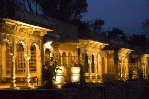 A night view Deo Bagh. Photo by Akanksha Dean