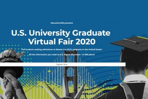 EducationUSA virtual university fair