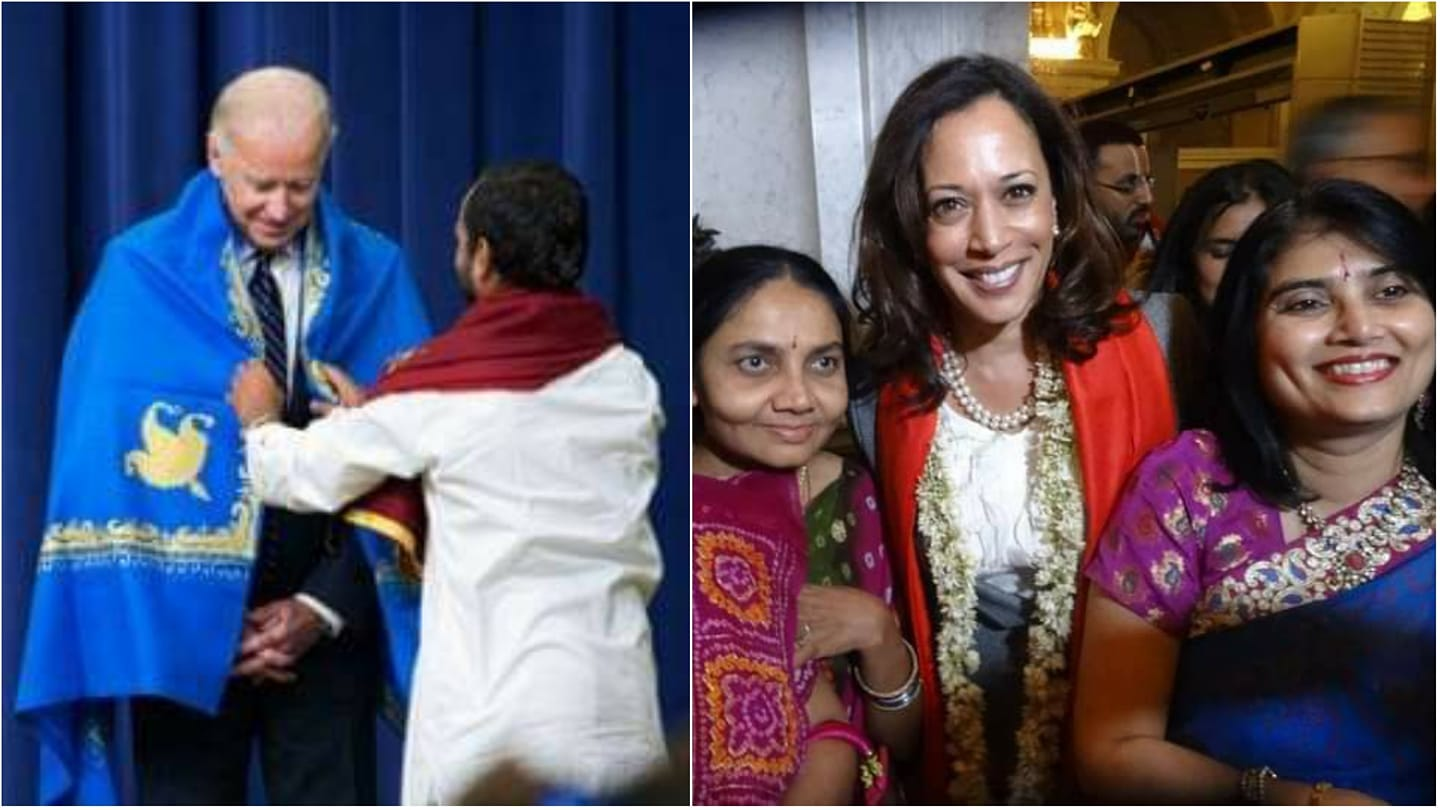 President-elect Joe Biden and Vice President-elect Kamala Devi Harris greeted Indians around the world on Diwali, the festival of lights, and looked forward to celebrating the cherished tradition at the White House next year.