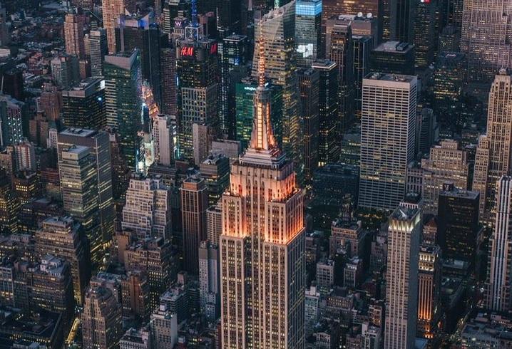 Empire State Building Diwali