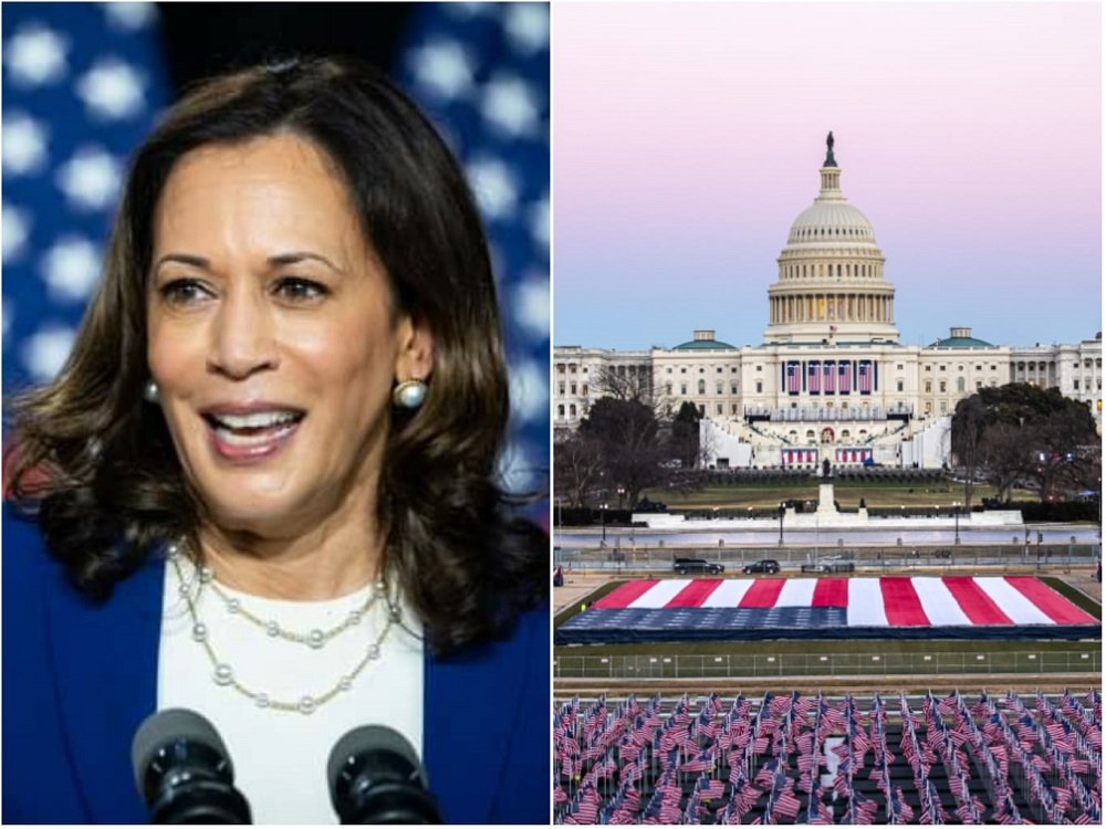 Kamala Devi Harris makes history as the first Indian American, female vice president of the United States of America