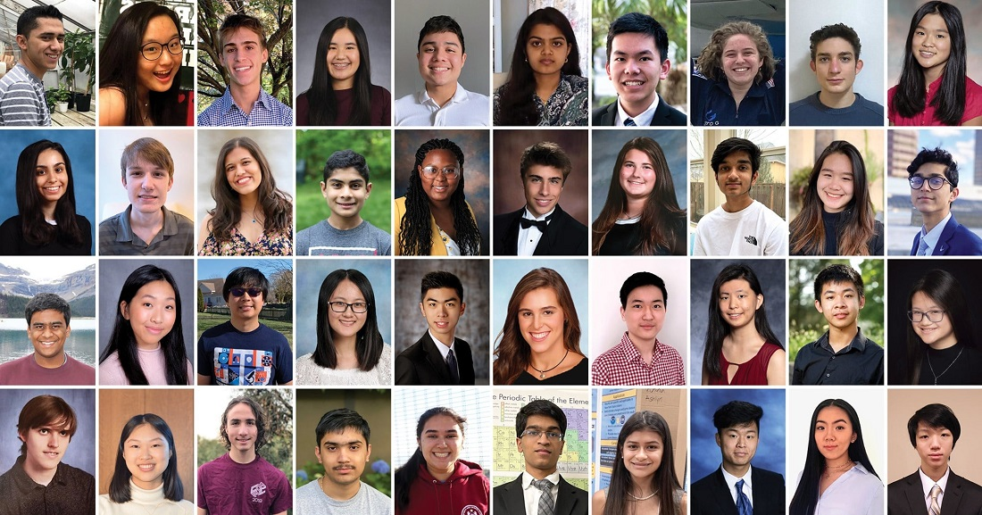 Eight brilliant Indian American teens are among the 40 finalists in the 2021 Regeneron Science Talent Search (Regeneron STS) competition which will be held virtually from March 10-17. Photo credit: Society for Science