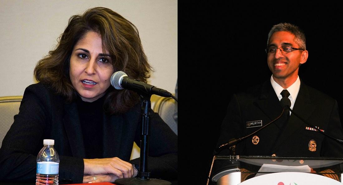 Neera Tanden and Vivek Murthy