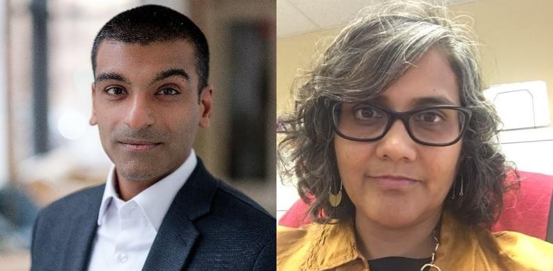 Chiraag Bains and Pronita Gupta