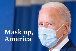 """President Joe Biden issued a mask mandate on federal property and launching a """"100 Day Masking Challenge"""" on his first day in office."""