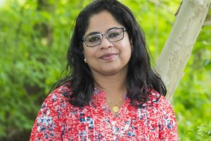 "Sini Panicker, author of ""Sita: Now You Know Me"""