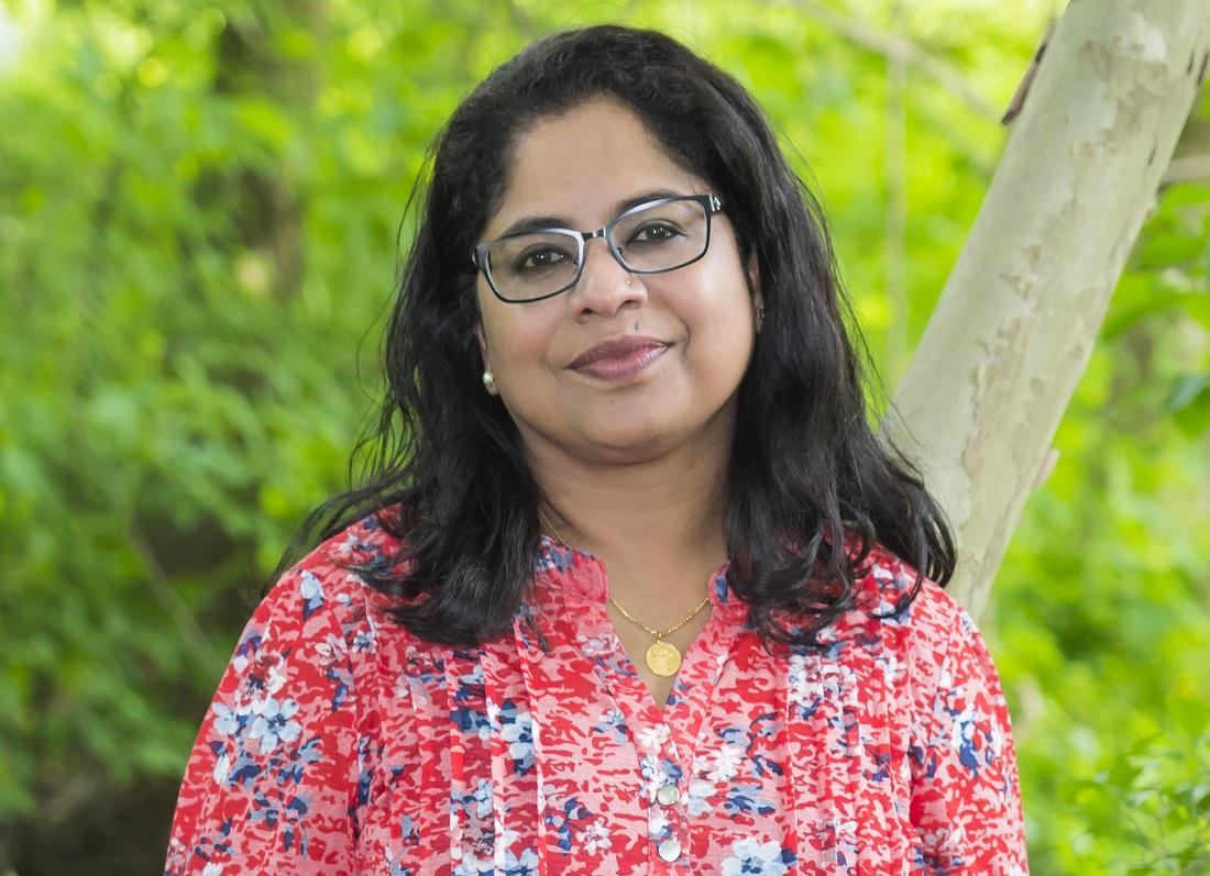 "Sini Panicker, author of ""Sita: Now You Know Me"""