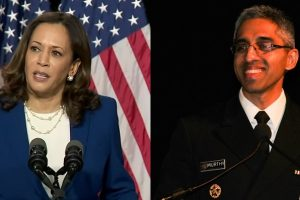Kamala Harris and Vivek Murthy