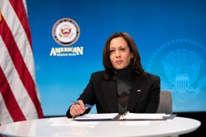 """Vice President Kamala Harris told a diaspora virtual event hosted by the State Department, """"At the beginning of the pandemic, when our hospital beds were stretched, India sent assistance. And today, we are determined to help India in its hour of need""""."""