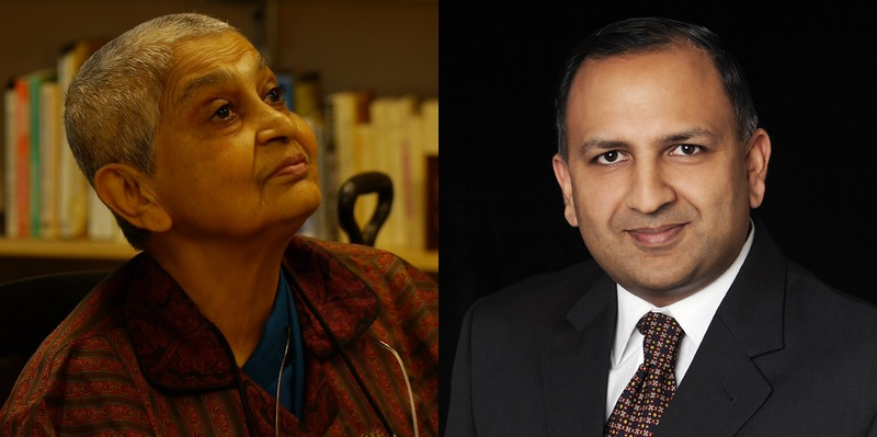 Indian American Gayatri Chakravorty Spivak (left) and Pratap Bhanu Mehta are among 84 new Fellows elected by the British Academy.